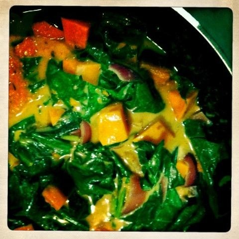 The BEST red curry recipe ever. As requested!