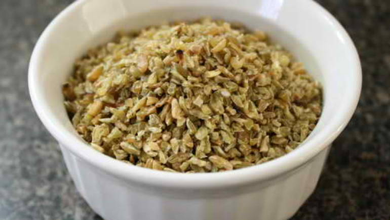 Good Food Friday: Freekeh with roasted parsnip and honey