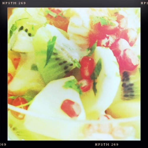 Good Food Friday : Fruit Salad with Coconut Dressing