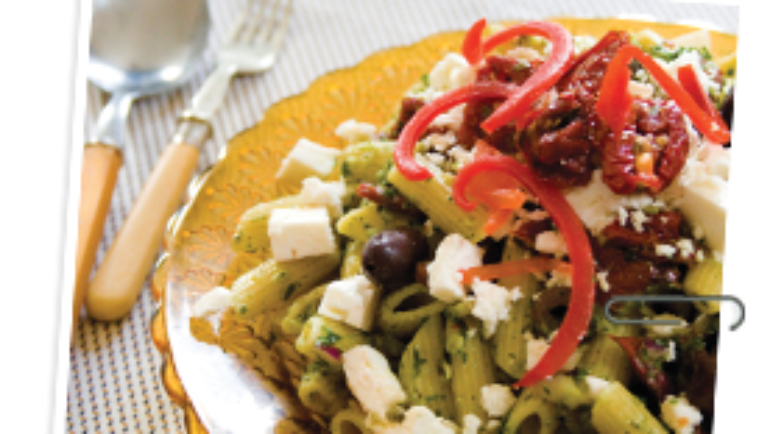 Good Food Friday : Pesto Pasta Salad