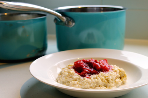 Good Food Friday : creamed quinoa pudding