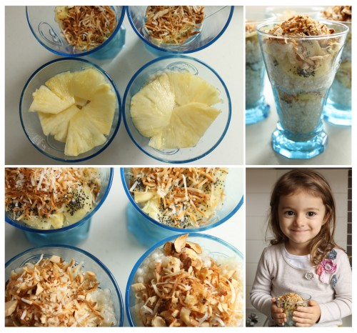 Good Food Friday : Lime Coconut Tapioca pudding