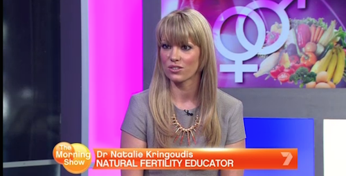 The Morning Show – my segment and my top 10 foods that make you fertile.