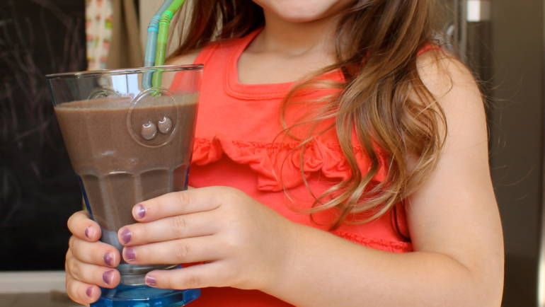 Good Food Friday : my healthy choc smoothie!