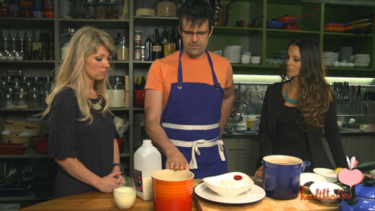 How to make probiotic foods easily – healthtalks in the kitchen with Walter Trupp.