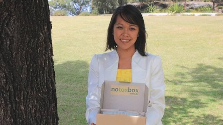 Introducing Sharon Chung and a Notox box giveaway!