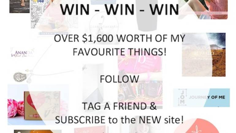 It's NEW, it's SHINY and it's all for YOU! And the GIVEAWAY of all time to celebrate.