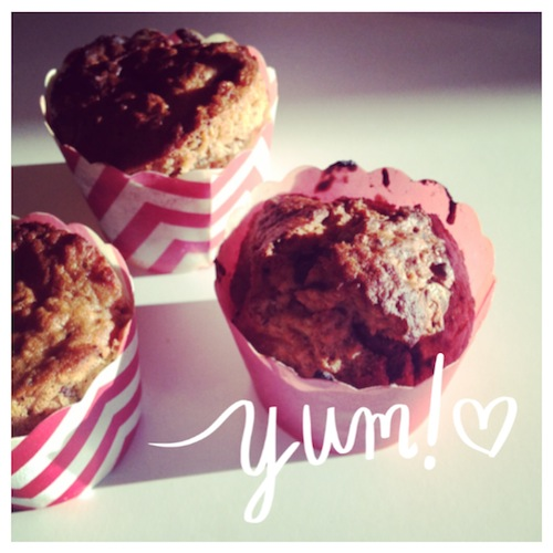 Chunky Muffins!