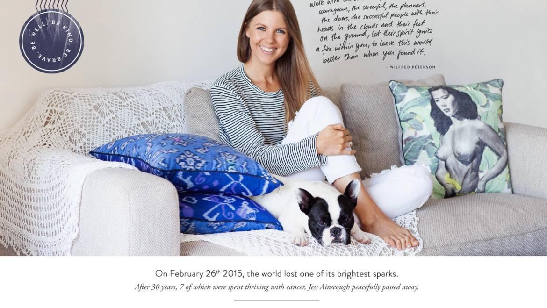 Jess Ainscough – the true Wellness Warrior