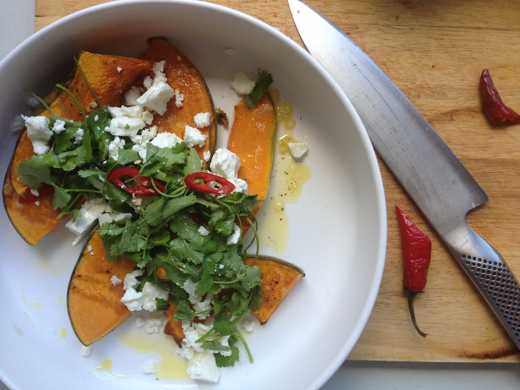 Your winter warmer – Roast Pumpkin Salad