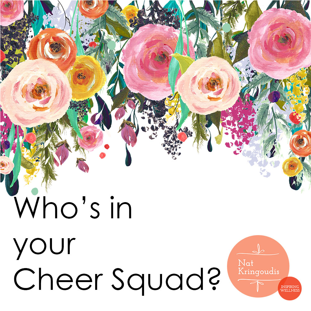 Who's in your health cheer squad?