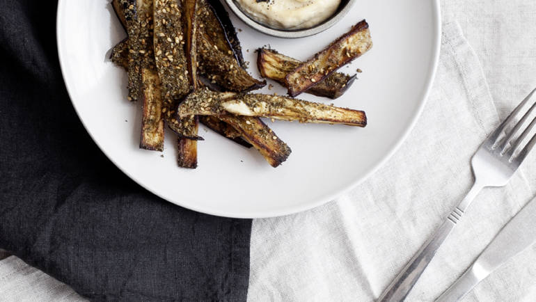 Foodie Friday: Eggplant Chips
