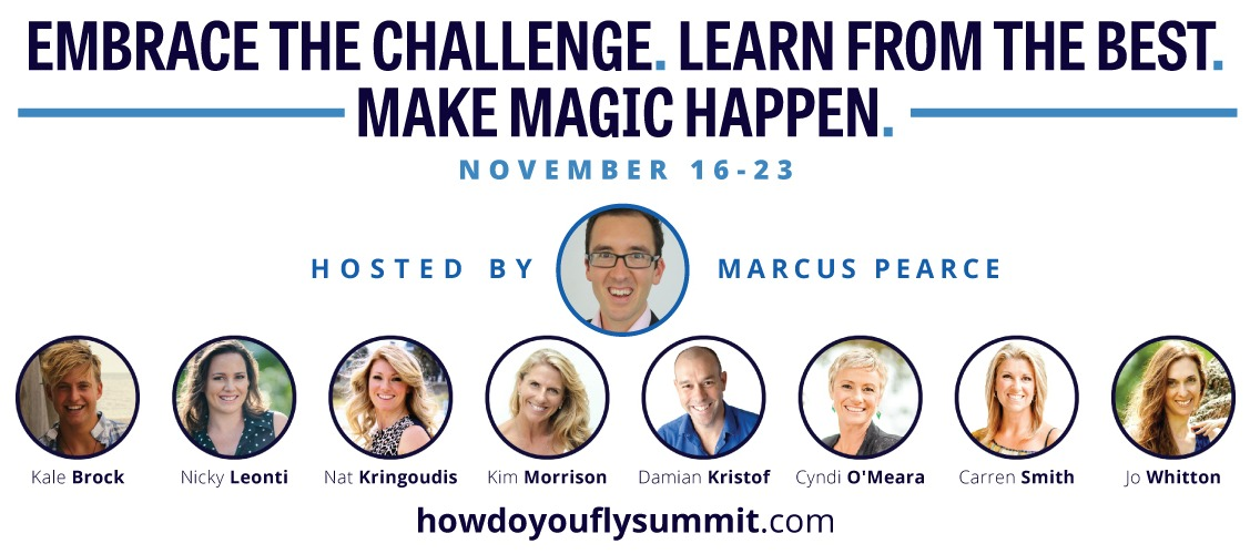 Join me in the How Do You Fly Summit!