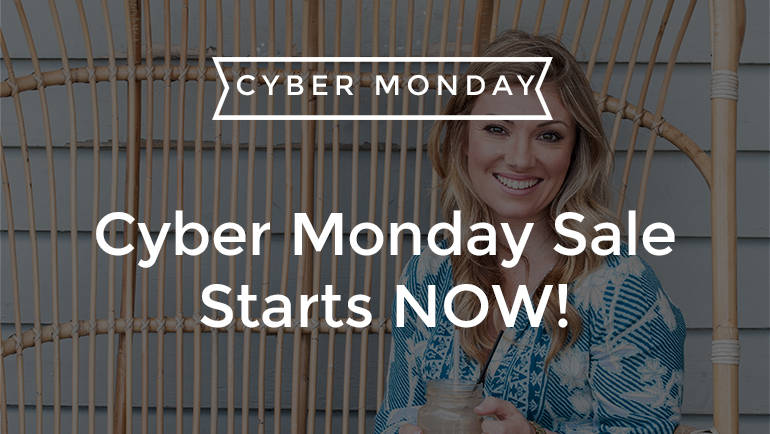 Cyber Monday Sale Starts NOW!