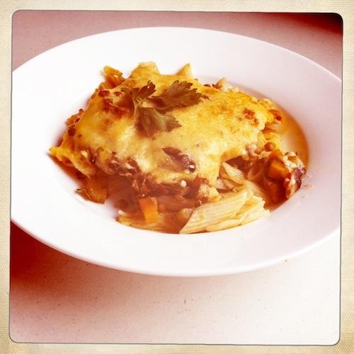 Good Fod Friday : vegetarian pastitsio