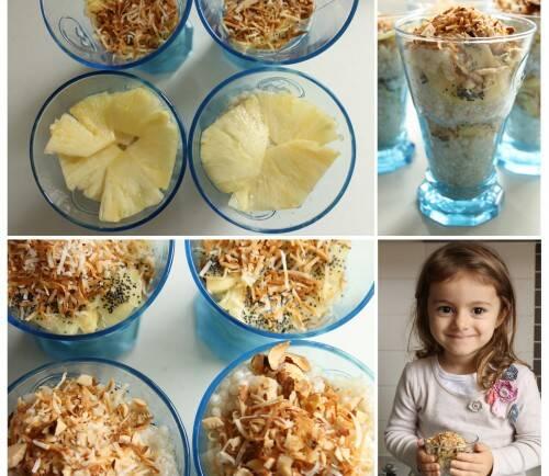 Good Food Friday : Lime Coconut Tapioca pudding