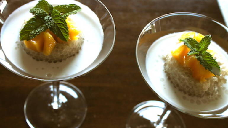 Good Food Friday : Tropical Tapioca Pudding