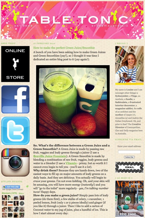 Top Green Smoothie