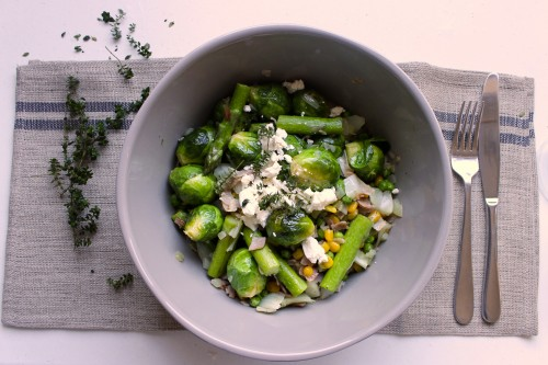 Good Food Friday : winter brussel salad