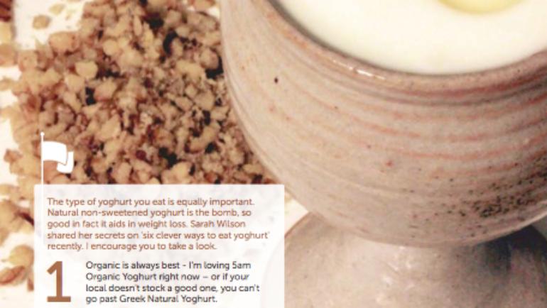 Good Food Friday : yoghurt with stewed fruits