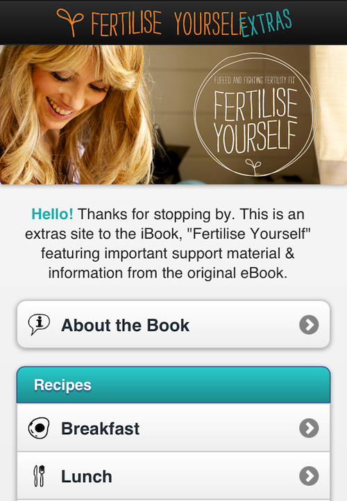 The e-book goes 'iBook.' PLUS an extra's site – just for YOU.