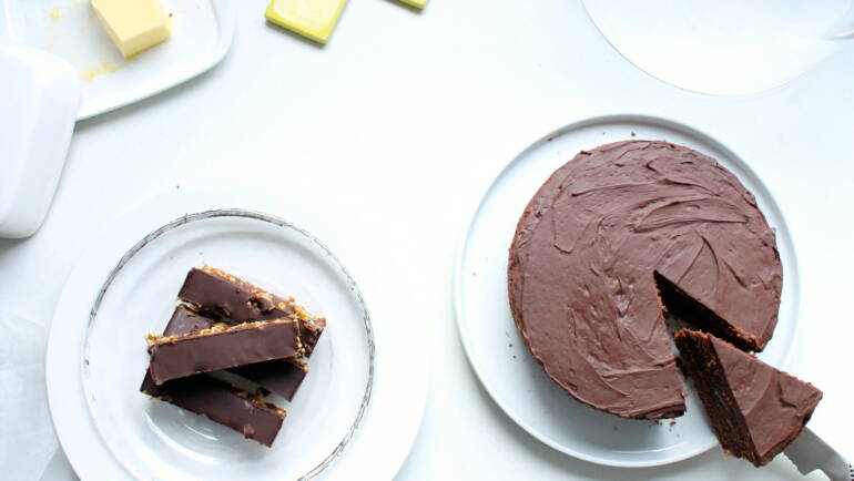 Good Food Friday : Gwyn's delicious chocolate cake – it's all good!