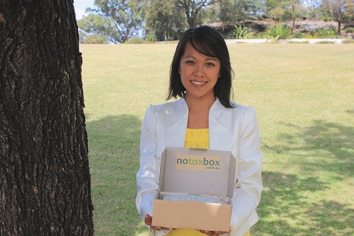 Introducing Sharon Chung and a Notox box giveaway!