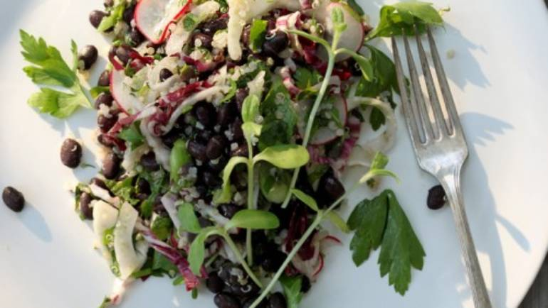 Good Food Friday : Sarah Britton's Minty Black Bean Salad