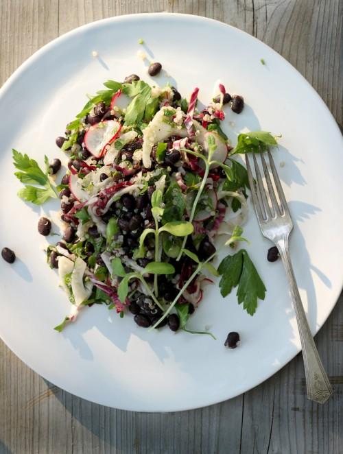 Good Food Friday : Sarah Britton's Minty Black Bean Salad