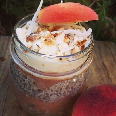 Good Food Friday: Nicole Beardsley's Peach Parfait