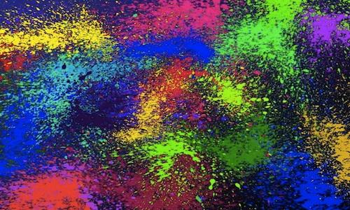 splatter copy