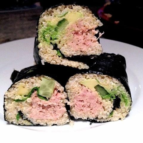 Good Food Friday: Quinoa Nori Rolls from Amelia Williams