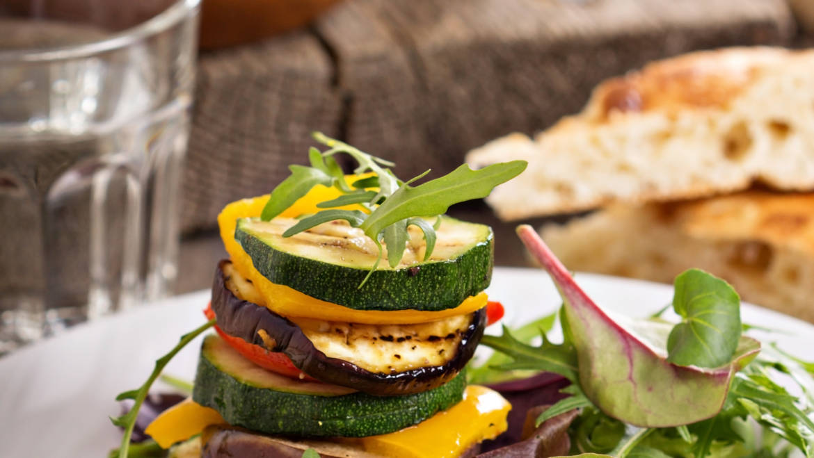 Gentle Body Cleanse – Grilled Veggie Stack!