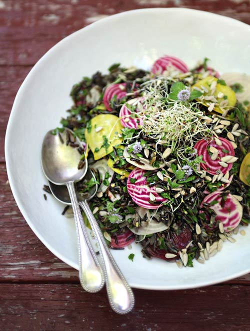 Good Food Friday: Sarah Britton's Sprouted Wild Rice & Betroot Salad