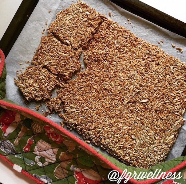 My seeded crackers – and why your hormones need them.