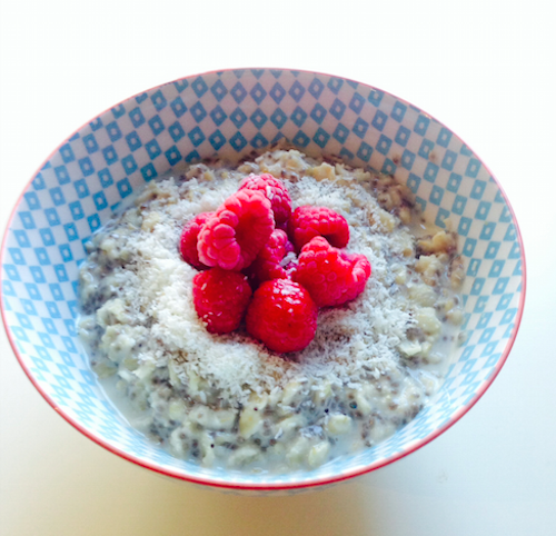 Good Food Friday – School Nutrition Warm Winter Porridge