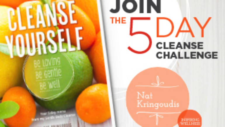 Did you see?  The 5 day re-charge challenge is ON!