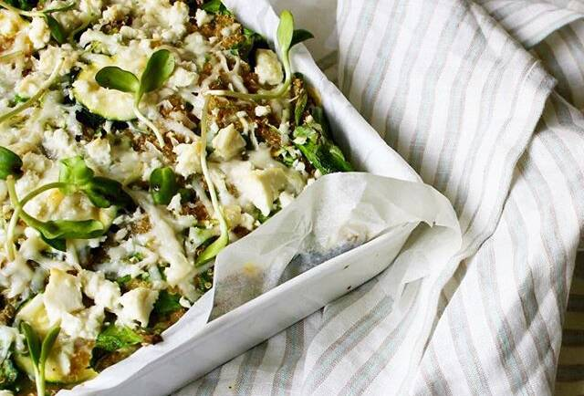 Good Food Friday:  Zucchini & Quinoa Frittata