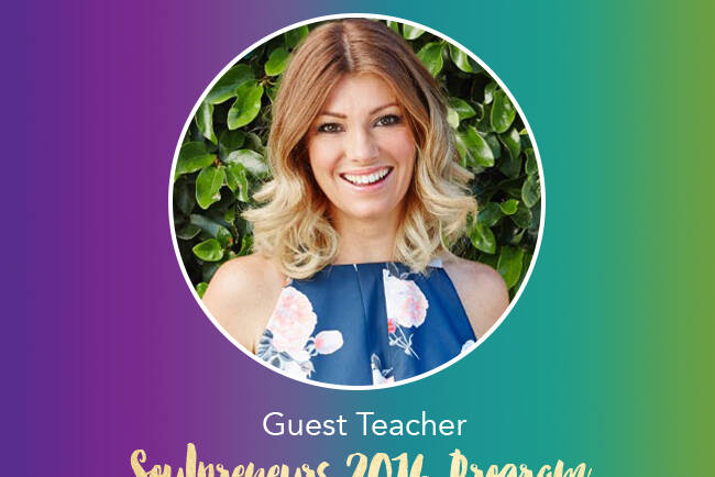 Join me as part of the Soulpreners 2016 Program!