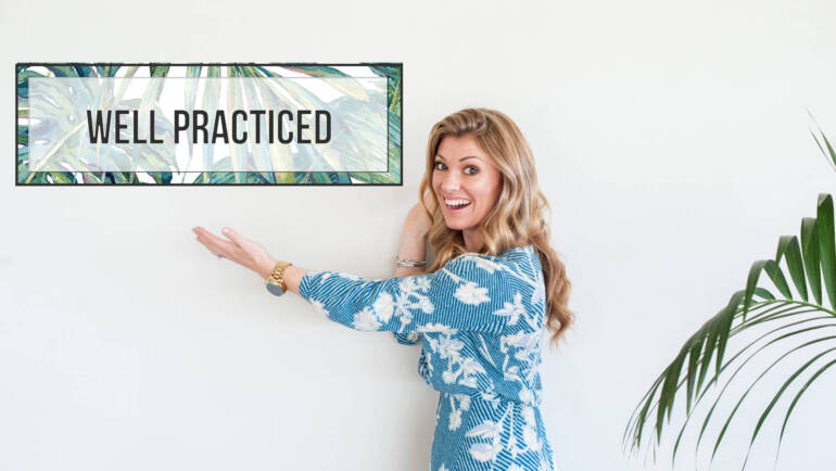 Introducing – Well Practiced