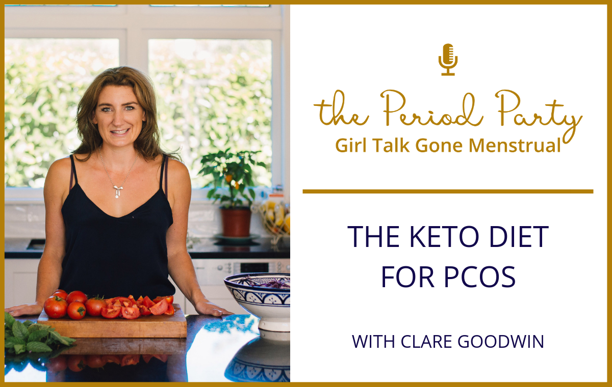 Clare Goodwin Period Party Podcast