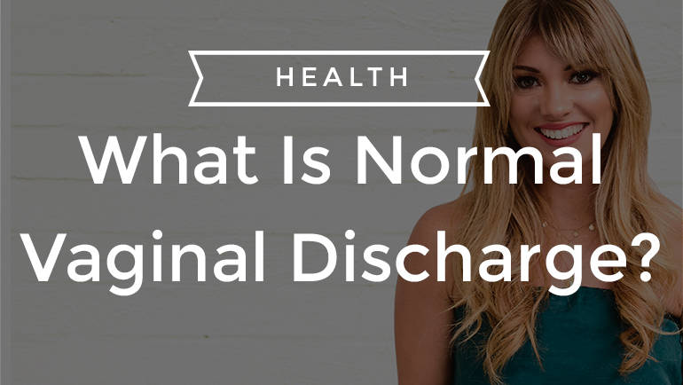 What Is Normal Vaginal Discharge?
