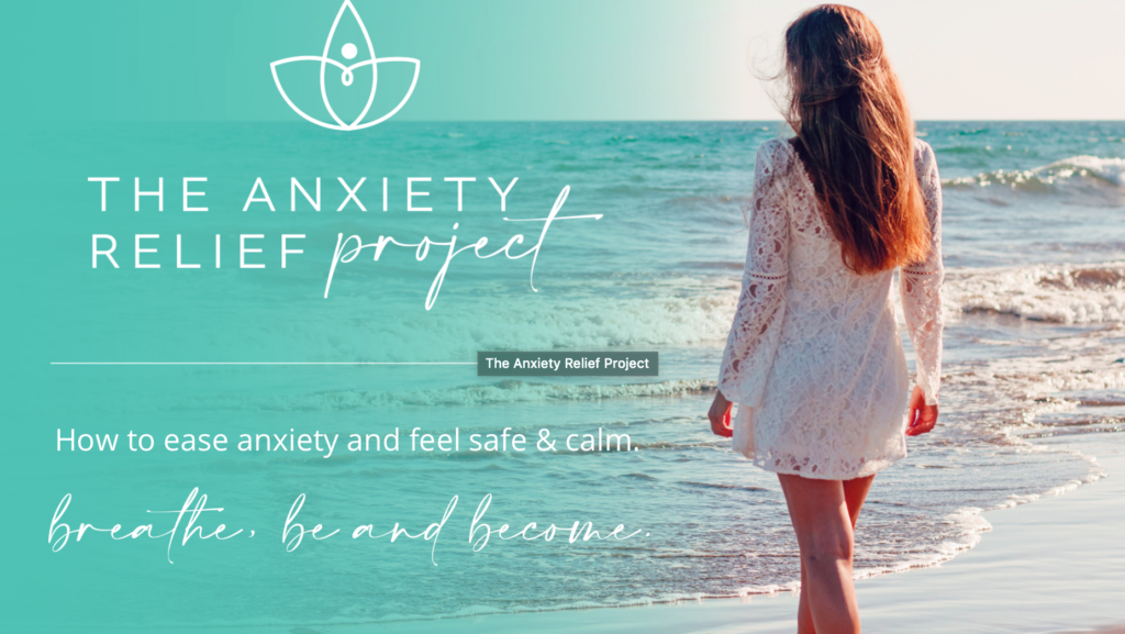The Anxiety Relief Project is here for you